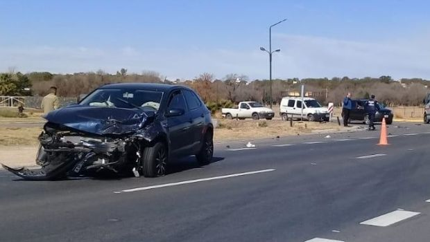 Malagueño: Accidente en Ruta C-45